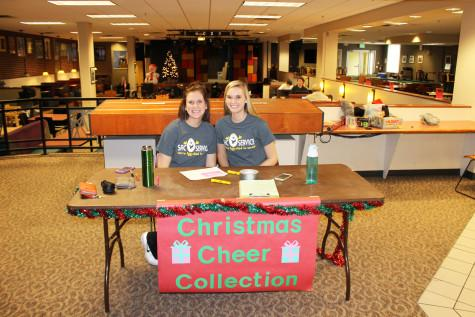 Students and organizations fundraise for Student Activities Counsil Christmas Cheer
