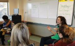 Students discuss campus sustainability