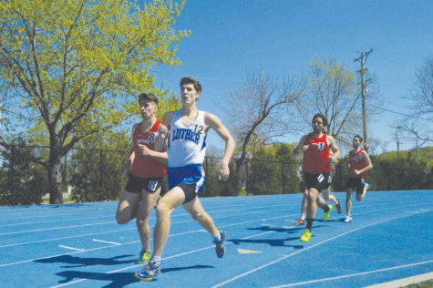 Track & field teams compete at Augustana