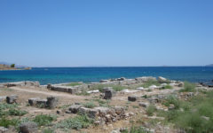 Dan Davis leads dig in Greece