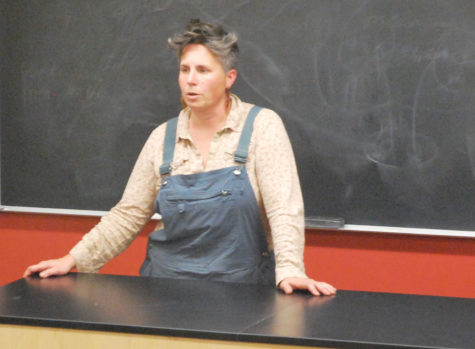 Sonia Kendrick lectures on food democracy