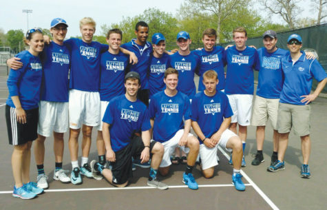 Men's tennis plays in Iowa Conference Tournament