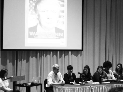 Students share experiences at Election Roundtable