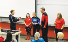 Luther celebrates Star Trek