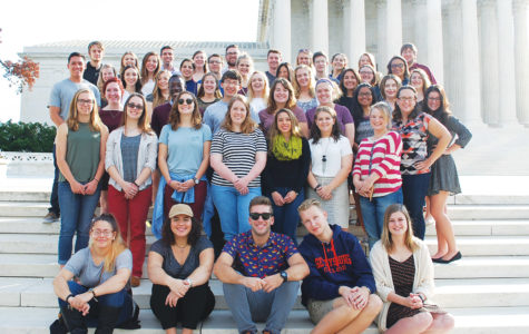 Luther Students study politics in Washington D.C.