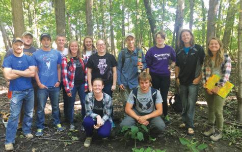 Biology department gains new land