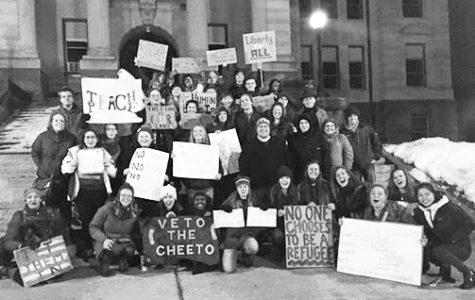 Winneshiek County protests refugee ban