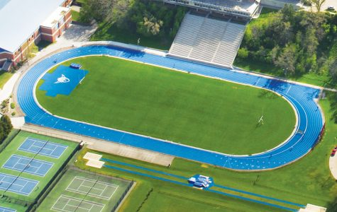 College to upgrade to blue turf football field