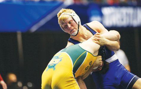 Kreiter is national runner-up wrestler