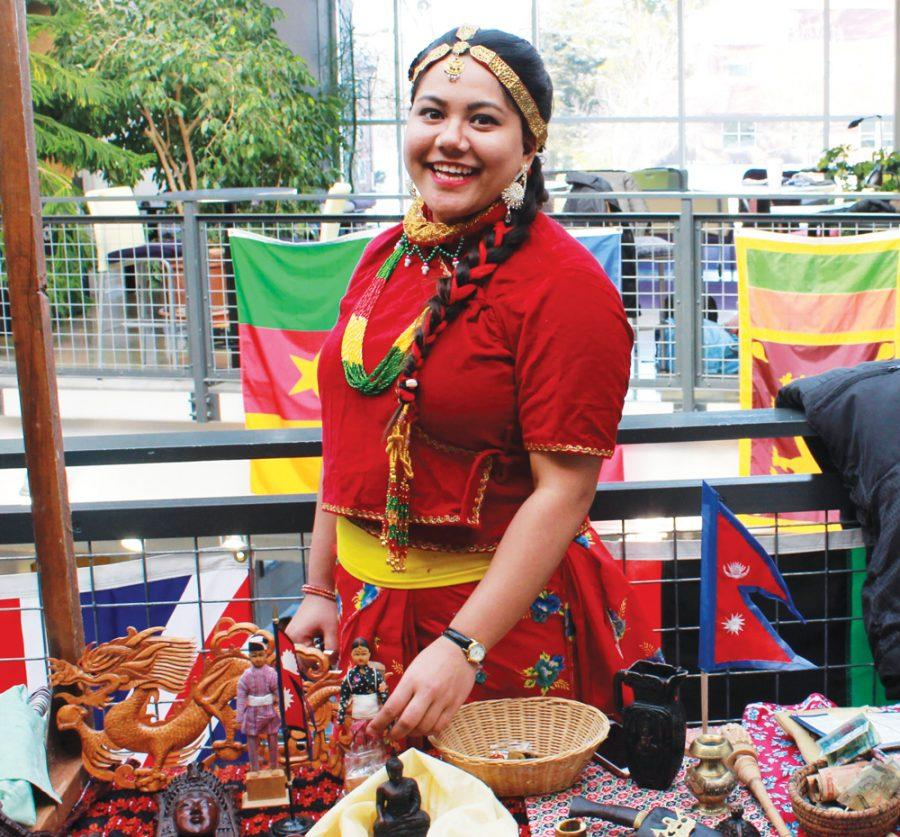 Sujana+Shrestha+%28%E2%80%9817%29+represents+her+country+Nepal.