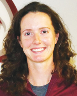 Assistant Track and Field Coach Rebecca Wesley