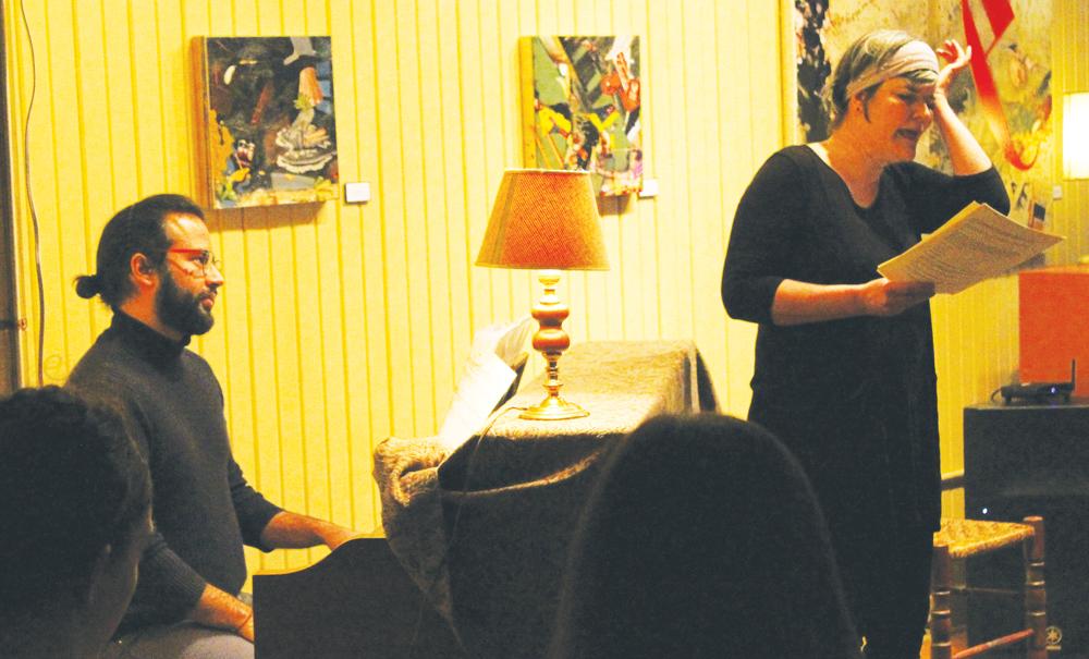 "Pablo Gómez Estévez ('17) and Kristin Underwood present ""Lulito's World"" at ArtHaus."