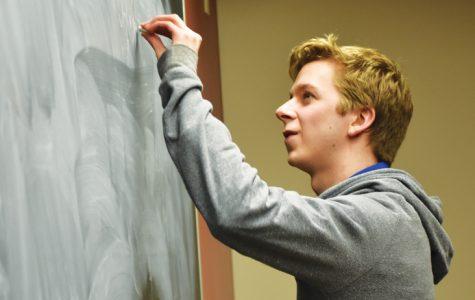 Kevin Honz receives two major physics scholarships