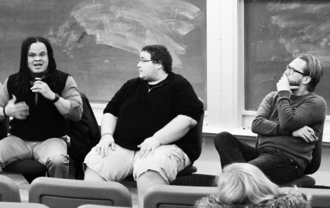 Panel discusses competing passions