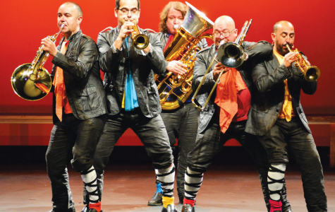 Spanish Brass brings bold style to Center Stage Series