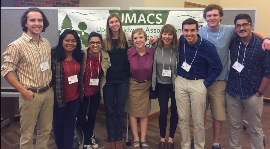 Students present at sustainability conference