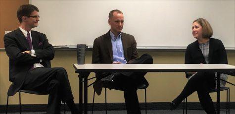 Alums host forum on law school applications
