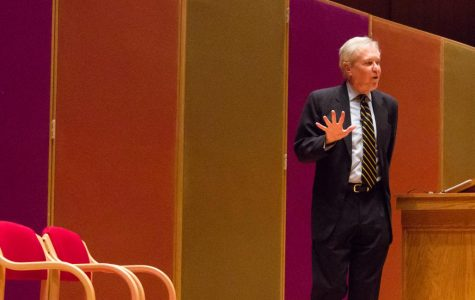 James Fallows delivers Farwell Distinguished Lecture