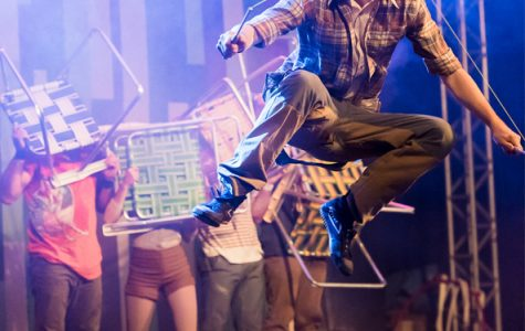 Flip FabriQue wows the crowd with tricks, tumbles, and tales