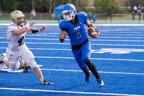 Norse erase 17 point deficit in homecoming stunner