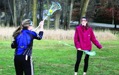 Luther takes a swing at lacrosse