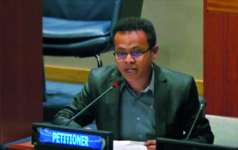 Luther student addresses United Nations