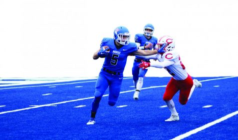 Football cedes second place standing to Central