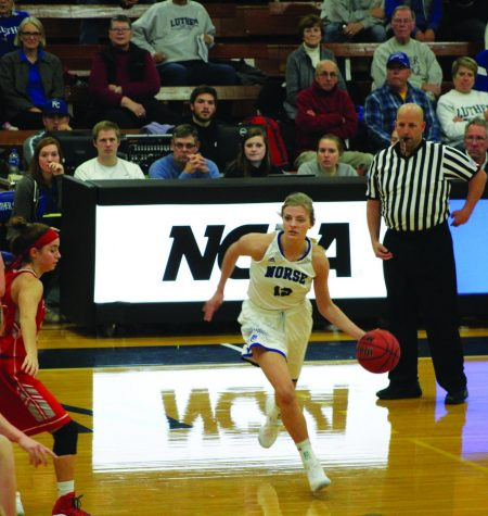 Women's basketball defeats Central College in first conference game