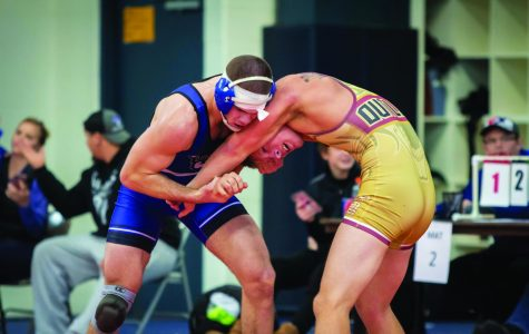Wrestlers face tough competition in Wisconsin