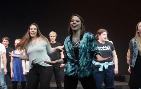 "Cast members ""rock"" out in 1440-Minute Musical"