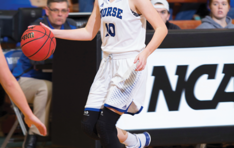 Luther out-shoots Simpson in IIAC semifinal game