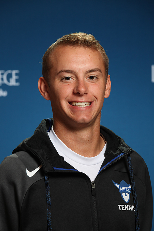 Brian Murman ('19) was named IIAC player of the week on April 9 for his performance in Men's Tennis.