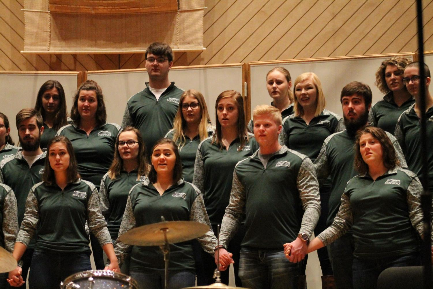 Cathedral Choir recorded four songs for Minnesota Public Radio's Bring the Sing event.