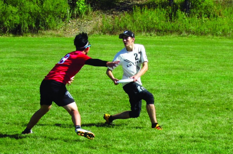 Luther frisbee teams prepare for regionals