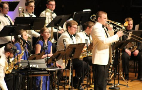 Winter storms do not stop Jazz Orchestra and Collegiate Chorale