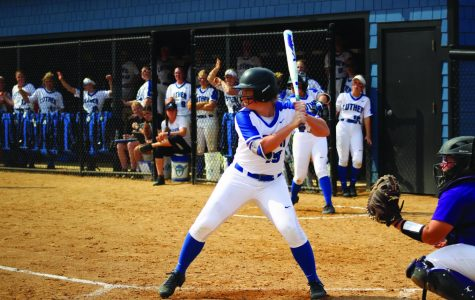 Softball first in conference with win over Nebraska Wesleyan