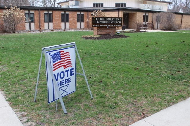 Good+Shepherd+Lutheran+Church+was+a+polling+station+during+the+referendum+for+many+Luther+students.