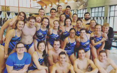 Swimming & Diving splash into their season against Nebraska Wesleyan University