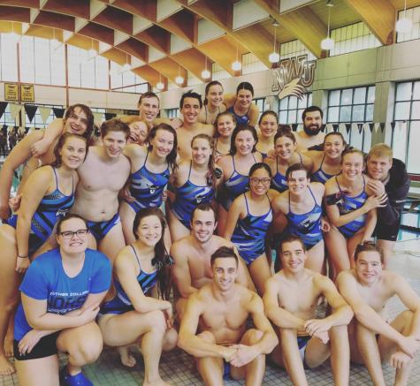 Swimming & Diving splash into their season against Nebraska Wesleyan University
