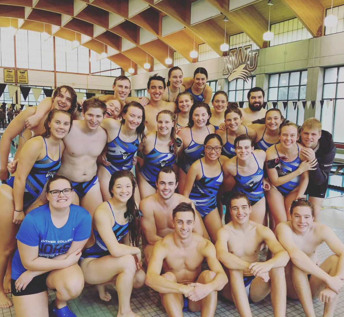 The Men's and Women's Swimming and Diving team open their season at Nebraska Wesleyan University.