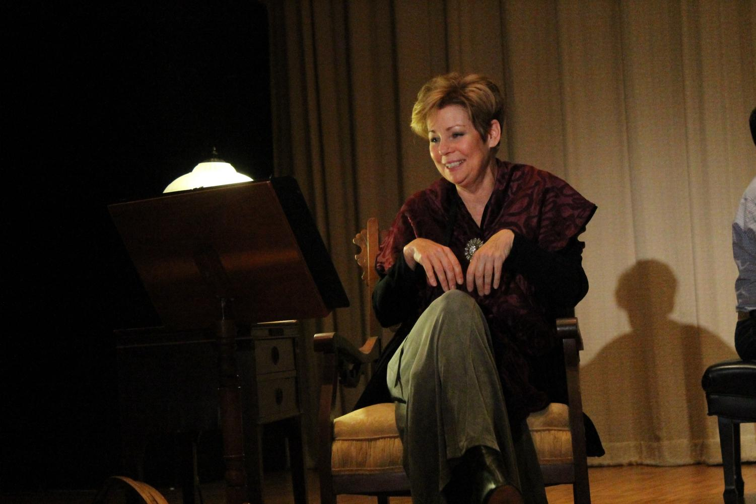 """Tammy Hensrud performed as Nadia Boulanger for Mina Fisher's """"Nadia,"""" the story of the renowned music educator."""
