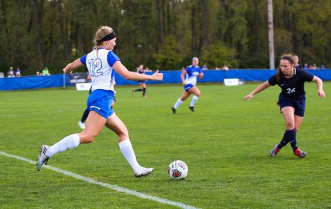 Luther Women's Soccer 4-2 going into Conference Tournament