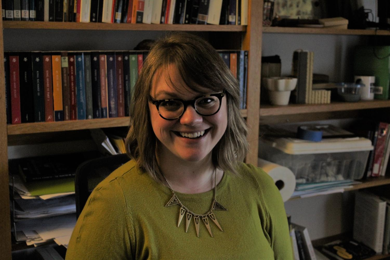 Assistant Professor of English Lindsey Row-Heyveld worked with Anna Phearman ('19) to create the Luther Disability Alliance.