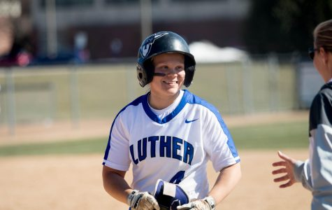 Anna Strien ('18) recognized for her  all-around success at Luther