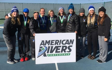 Women's Tennis competes in ARC Individuals Tournament