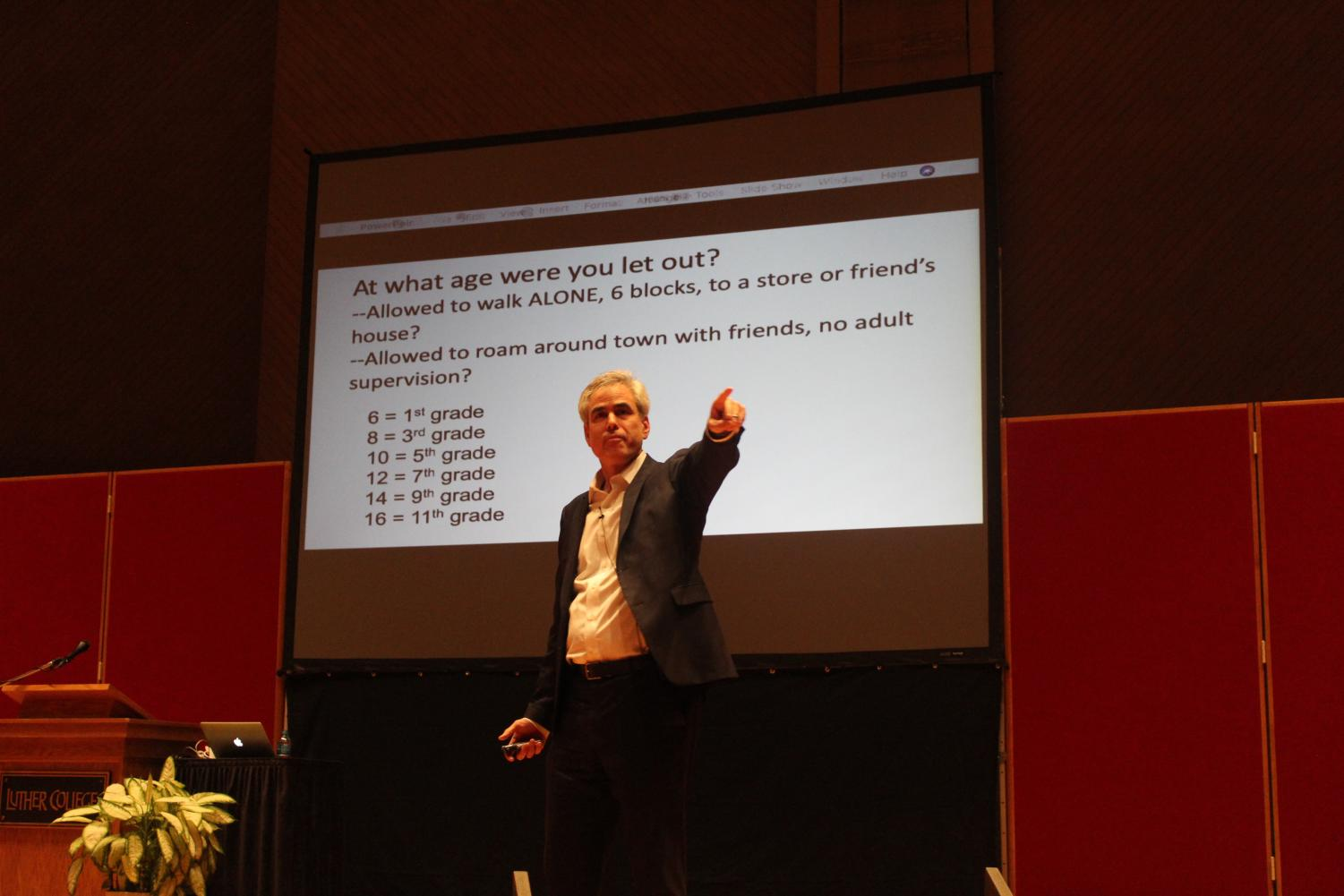 Jonathan Haidt lectured about possible consequences of