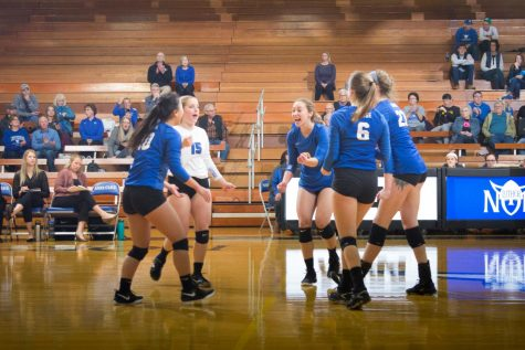 Volleyball's season ends in ARC semifinal game