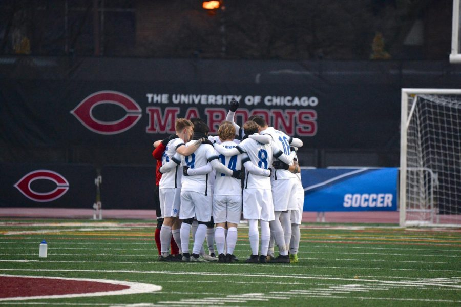 Luther Men's Soccer participated in the quarterfinals of the NCAA III Championships for the first time in 17 years.