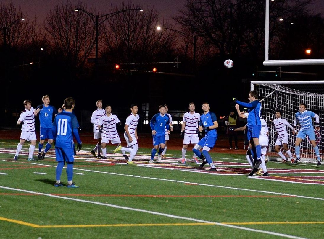 Luther Men's Soccer faced the University of Chicago on Nov. 18 in the NCAA III Championships held in Chicago.