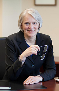 President Paula J. Carlson,  Luther's 10th president will be retiring in the spring of 2019.